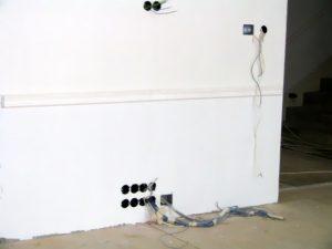 Прокладка проводки под ключ