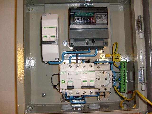 Установка электрического счетчика в СПб