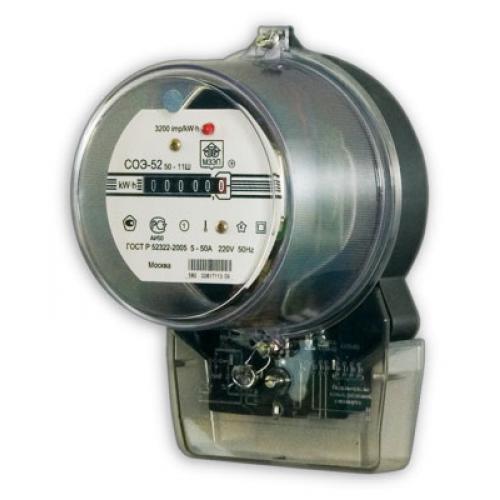 Установка индукционных механических электросчетчиков