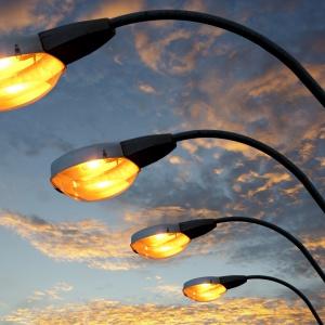 Освещение улиц в СПб