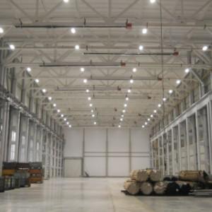 Освещение цеха, фабрики, склада в СПб