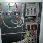 Установка электрощита в загородном доме СПб - пример