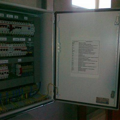 Результат установки УЗО и автоматов от компании ЛюксЭнергоСервис