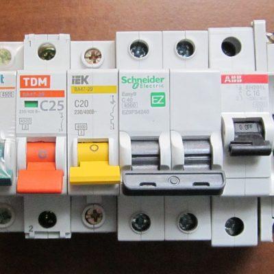 Что такое автоматический выключатель тока