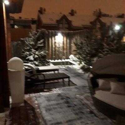 Результат монтажа уличного освещения от компании ЛюксЭнергоСервис