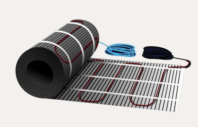 Нагревательный мат для теплого электрического пола – конструкция, выбор и эксплуатация