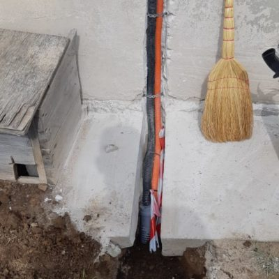 Результат подключения дачного дома к сети 380 вольт от компании ЛюксЭнергоСервис
