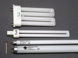 Виды ламп для светильников. Люминесцентные лампы