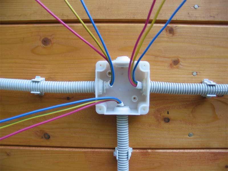 Особенности монтажа и замены электропроводки